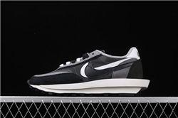Men Sacai x Nike LVD Waffle Daybreak Running Shoes AAAA 440