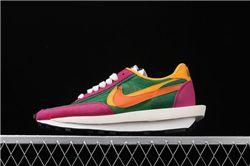 Men Sacai x Nike LVD Waffle Daybreak Running Shoes AAAA 441