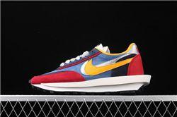 Men Sacai x Nike LVD Waffle Daybreak Running Shoes AAAA 442