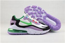 Women Nike Air Max 270 React Sneakers 324