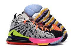 Men Nike LeBron 17 Basketball Shoes 870