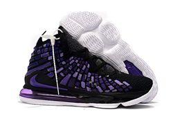 Men Nike LeBron 17 Basketball Shoes 872