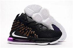 Men Nike LeBron 17 Basketball Shoes 873