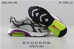 Men Nike Air Max 200 Running Shoes 205