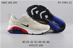 Men Nike Air Max 200 Running Shoes 206