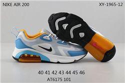 Men Nike Air Max 200 Running Shoes 207