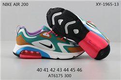 Men Nike Air Max 200 Running Shoes 208