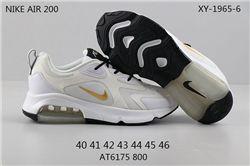 Men Nike Air Max 200 Running Shoes 209