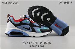 Men Nike Air Max 200 Running Shoes 210