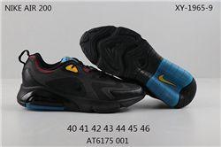 Men Nike Air Max 200 Running Shoes 212