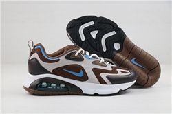 Men Nike Air Max 200 Running Shoes 214