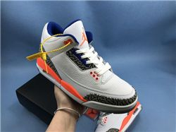 Men Air Jordan III Retro Basketball Shoes AAA...