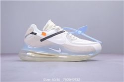 Men Off White x Nike Air Max 270 90 Running S...