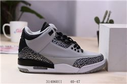 Men Basketball Shoes Air Jordan III Retro 345