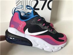 Kids Nike Air Max 270 React Sneakers 446