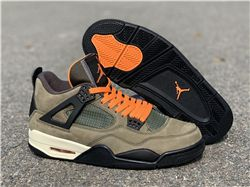 Men Air Jordan 4 X Undefeated Travis Scott