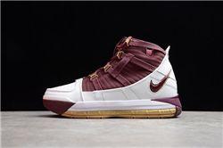 Men Nike Zoom Lebron III Basketball Shoes AAAAA 887
