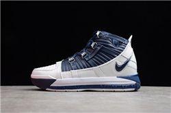 Men Nike Zoom Lebron III Basketball Shoes AAAAA 888