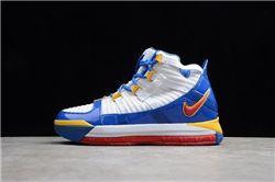Men Nike Zoom Lebron III Basketball Shoes AAAAA 889