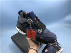 Women Air Jordan 4 WNTR Loyal Blue Sneakers A...