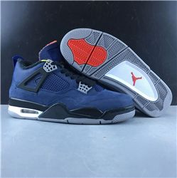 Men Air Jordan 4 WNTR Loyal Blue Basketball Shoes AAAAAA 481
