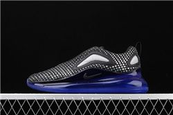 Men Nike Air Max 720 Black Green Running Shoes AAAA 371