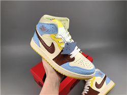 Women Air Jordan 1 Retro Sneaker AAAA 607