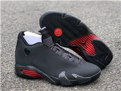 Men Air Jordan 14 SE Black Ferrari