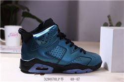 Men Air Jordan 6 Chameleon Basketball Shoes A...