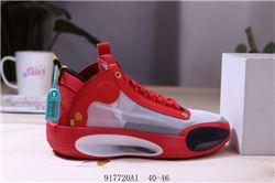 Men Air Jordan XXXIV Basketball Shoes 224