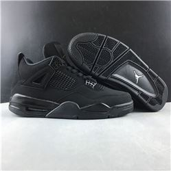 Men Air Jordan 4 Black Cat