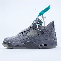 Men Men KAWS x Air Jordan 4 Cool Grey