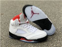 Men Air Jordan 5 Fire Red 2020