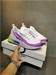 Women Nike Air Max 270 React Sneakers AAA 357