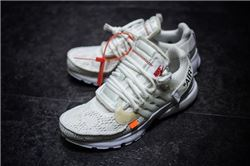 Women Off White x Nike Air Presto Sneakers AAAAA 424
