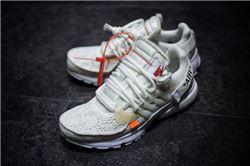 Men Off White x Nike Air Presto Running Shoe AAAAA 528