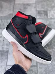 Men Air Jordan 1 Retro Double Strap Basketbal...