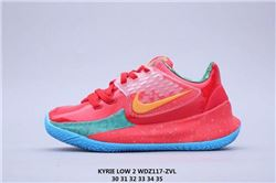 Kids Nike Kyrie II Low Sneakers 408