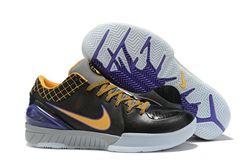 Men Nike Zoom Kobe IV Protro Black Del Sol 53...