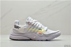 Women Off White x Nike Air Presto Sneakers 427