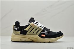 Men Off White x Nike Air Presto Running Shoe 533