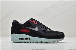 Men Nike Air Max 90 Premium Vinyl Black Runni...
