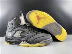 Men Off White x Air Jordan 5