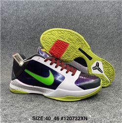 Men Nike Kobe 5 Basketball Shoes AAA 610