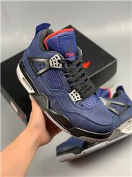 Men Air Jordan 4 WNTR Loyal Blue Basketball Shoes AAAA 479