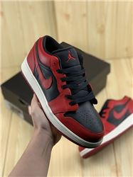 Women Air Jordan 1 Bred Low Sneaker AAAA 649