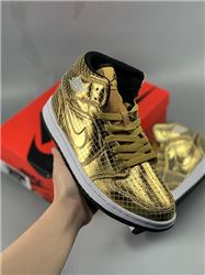 Women Air Jordan 1 Mid Disco Ball Sneaker AAA...