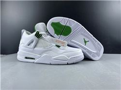 Men Air Jordan 4 Pine Green Basketball Shoes ...