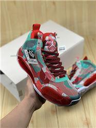 Men Air Jordan XXXIV Basketball Shoes AAAA 23...