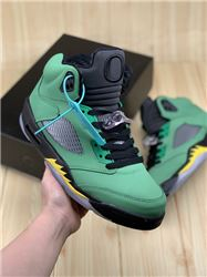 Women Air Jordan V SE Oregon Ducks Sneaker AA...